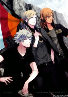 Hotness in the form of the heavenly Ranmaru, the gorgeous Camus and the sexy Ren.