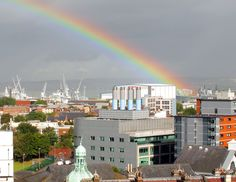 Rainbow: Portsmouth, England This one gets pinned because Portsmouth is my home and I love it.
