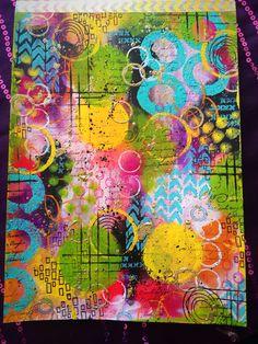 Dina Wakley's beautiful bright colours make my heart sing !! @ranger_ink @dinawakley #Art #artjournal #artjournaling #artjournalpage #blooms #color #colour #flowers #flowerstamp #journal #journalling #layers #fussycutting #mixedmedia #mixedmediaart #mixedmediaartist #paint #rangerink #dinawakleymedia #dinawakley #tracyscott #acrylic #stamps #stamping #rubberstamp #rubberstamping