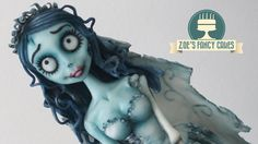 Tim Burton's Corpse Bride cake. In this video I make a doll cake of the Corpse Bride from the Tim Burton movie 'Corpse Bride'. I have made this video for Hal...