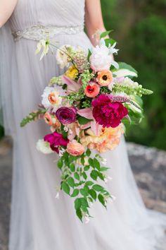 Summer wedding florals