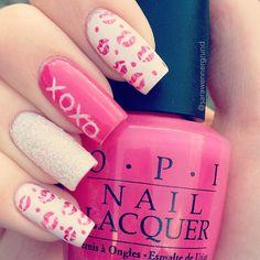 valentine by sarawennergrund #nail #nails #nailart