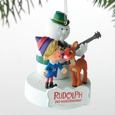 rudolph the red nosed reindeer ornaments | Rudolph the Red-Nosed Reindeer Ornament
