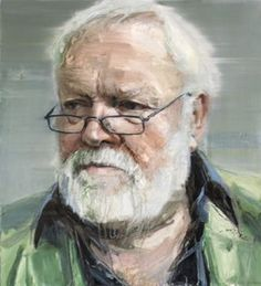 I love this wonderful contemporary artist! Colin Davidson 'Portrait of Michael Longley Poet, Editor and Anthologist', © Colin Davidson Pastel Portraits, Watercolor Portraits, Modern Artists, Contemporary Artists, Modern Contemporary, Colin Davidson, Rainer Maria Rilke, Painting People, National Portrait Gallery