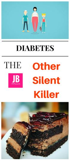 Diabetes, the Other Silent Killer Did you know that diabetes is the other silent killer after high blood pressure? If not managed properly it can be devastating. Fortunately, there are steps you can take to minimize it's impact and live a healthy life.  diabetes symptoms, diabetes information, diabetes mellitus, diet, weight loss, obesity https://jbfitshape.wordpress.com/2017/05/26/diabetes-the-other-silent-killer/
