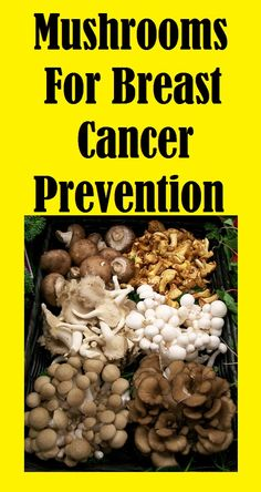 Mushrooms For #Breast #Cancer Prevention. Pin this and read more... http://slimmingtips.givingtoyou.com/mushrooms-for-breast-cancer
