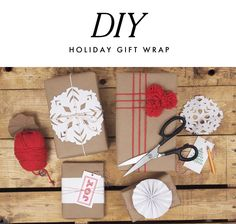 A Pair of Pears: It's A Wrap: DIY Holiday Gift Wrap