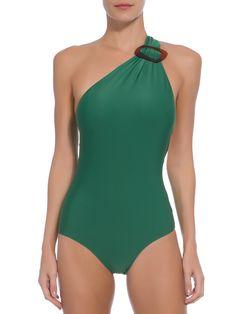 Maiô Ombro Fivela - Adriana Degreas - Verde - Shop2gether Cute Swimsuits, Women Swimsuits, One Shoulder Swimsuit, Jolie Lingerie, Cute Bathing Suits, Sport Chic, Beachwear For Women, Swim Dress, Swimwear Fashion