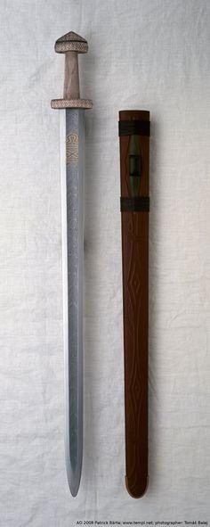 Awesome Viking Sword recreation by Patrick Barta, a Czech Swordsmith.