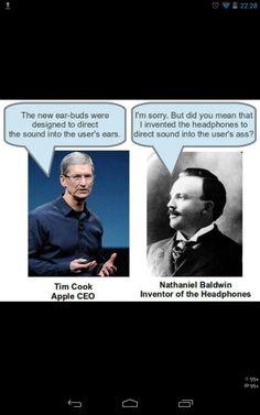 Ear buds. #BoycottApple