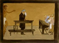 For Thy Sake ; For Your Sake, 1895 by Hugo Simberg on Curiator, the world's biggest collaborative art collection. Graphic Artist, Arty, Painter, Digital Museum, Collaborative Art, Painting, Art, Art Collection, Symbolist