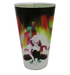 This pint glass features a striking image of Spider-Gwen, aka Gwen Stacy of residing on a full-color print wrapping around the entire glass. Perfect Gift For Him, Gifts For Him, Gwen Stacy, Green Goblin, Spider Gwen, Color Print, Print Wrap, Shot Glasses, Comic Covers