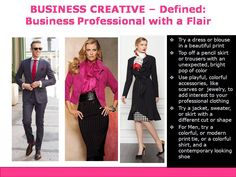 Business Creative Dress Code Defined