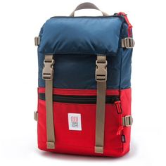 TOPO ROVER PACK - RED/NAVY