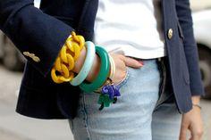 Angela Caputi bracelets