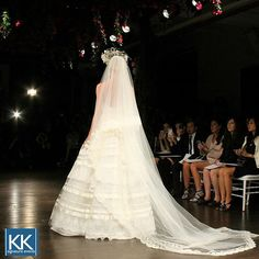 Final favorite from Friday at New York Bridal Fashion Week! This is a beautiful shot from the Naeem Khan Runway Show taken by owner Karen Kaforey on the #frontrow #NewYorkBridalFashionWeek #FallBridal2016 #nybfw #naeemkhan #naeemkhanbridal