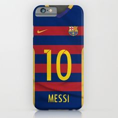 iPhone 6s Case - Barcelona Messi Soccer, Futbol, Lio, 10, Argentina