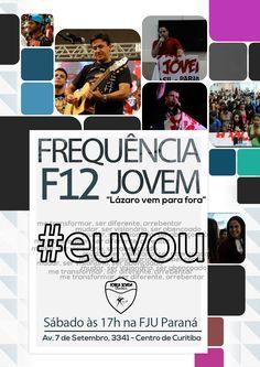 #euvou | Força Jovem Universal Flyer