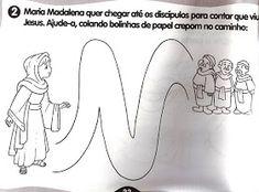 Baú de Recursos para o Ministério Infantil: A casa de Deus/Atividades Kids Playing, Kids Ministry, Jesus Is, School, Dios, Mary Magdalene
