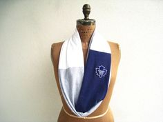 Toronto Maple Leafs T Shirt Infinity Scarf (I wore mine at the Winter Classic! :)