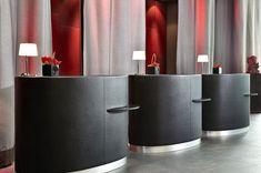 Hotel Reception Desk, Reception Desk Design, Lobby Reception, Reception Counter, Lobby Interior, Luxury Interior, Modern Interior Design, Hotel Lobby Design, Lobby Lounge