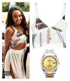 """""""Leigh-Anne Pinnock exact #165"""" by ilikewarmhugsolaf ❤ liked on Polyvore featuring Preen, Rolex, women's clothing, women, female, woman, misses and juniors"""