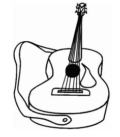 62 coloring pages of musical instruments on kids n funcouk