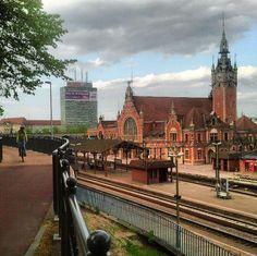 Gdańsk Railway Station, Poland
