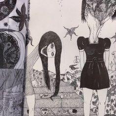 """Daisuke Ichiba's bizarro world anthology """"Badaism"""" has just been added to AkaTako. 136 pages of nightmares and chaos! #daisukeichiba #badaism"""