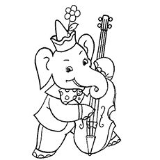 Trumpet Online Coloring Page | Brass Coloring | coloring pages ...