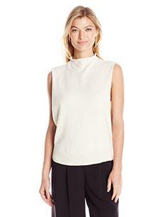 Women's Skyler Solid Open Side Sleeveless Sweater