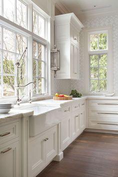 Found My DREAM kitchen! The sink, the backsplash, the giant windows <3 <3 <3
