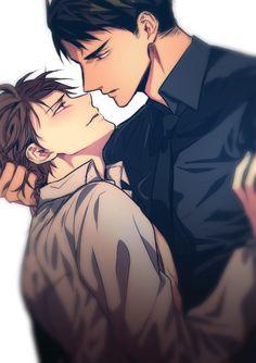 Oikawa Tooru & Ushijima Wakatoshi | Haikyuu!! #manga #BL #yaoi