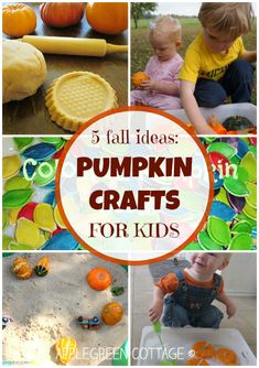 Have a look at these 5 amazingly easy and inviting kids fall activities involving pumpkins. Your kids (and you) will love them!