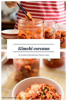 Kimchi coreano: cos'è e come fare il kimchi coreano a casa #ricette #cucinacoreana #cucinaasiatica #kimchi