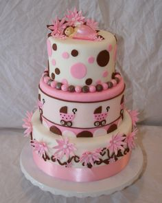 Baby Shower - by sweetelegance @ CakesDecor.com - cake decorating website
