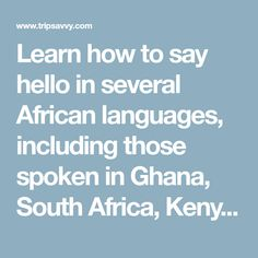 Why Are More African Countries Adopting English as an ...