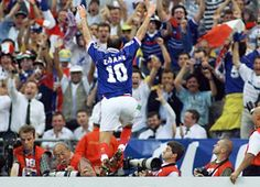 Zinedine Zidane, France 3 - 0 Brazil, FIFA World Cup Final (France/1998)