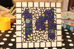 (1) HarperBizarreArt (@Harper_Bizarre) | Twitter Sarah Harper, House Number Plaque, Bizarre Art, Mosaic, Twitter, Artist, Painting, Weird Art, Mosaics
