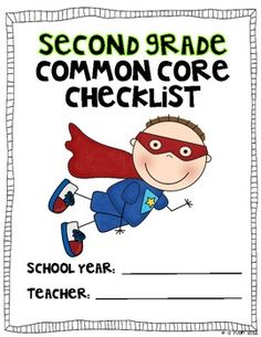 Be a Common Core Superhero!  Use this color coded checklist to mark off when you have taught to the SECOND grade Common Core Standards.