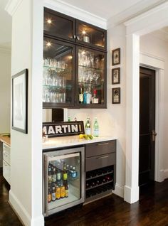 Luxury Wine Bar Cabinet Designs