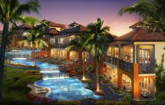 South Seas Village at Sandals LaSource Grenada in the Caribbean - Sandals Resorts  Book your vacation today: www.aggieworldtravel.com