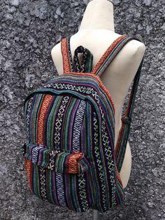 Big Boho Tribal Backpack Hobo Aztec Ethnic by TribalSpiritShop
