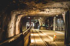 Train station in the salt mines of Bex. Lake Geneva, Train Station, Alps, Hiking, Walks, Trekking, Hill Walking
