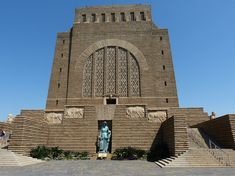 The majestic Voortrekker Monument commemorates the Pioneer history of Southern Africa and the history of the Afrikaner and is situated in a beautiful setting in Pretoria Most Beautiful Cities, Beautiful Places To Visit, Best Location, Wonders Of The World, South Africa, Cool Photos, National Parks, Architecture, City