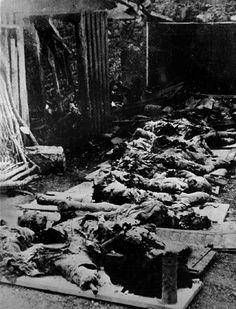 1939 1945 Massacre d'Oradour-sur-Glane le 10  Juin 1944