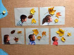 Manualidades para niños: divertidos retratos de otoño Más
