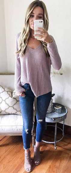 45 Stunning Fall Outfits To Wear Right Now   39  Fall  Outfits Winter  Fashion 941f59adcba5