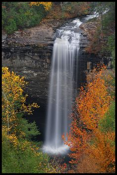 Fall at Foster Falls