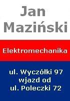 ELEKTROMECHANIKA JAN MAZIŃSKI - naprawa samochodów osobowych ul. Wyczółki 97 wjazd od ulicy Poleczki 72